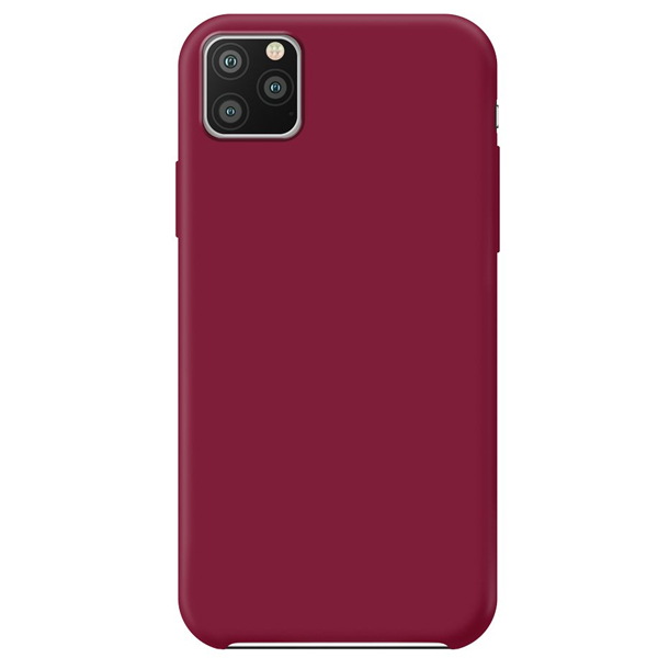 Чехол Deppa Liquid Silicone Case для Apple iPhone 11 Pro Max Red