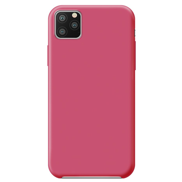 Чехол Deppa Liquid Silicone Case для Apple iPhone 11 Pro Max Fuchsia