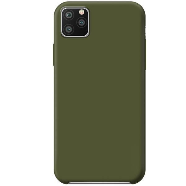 Чехол Deppa Liquid Silicone Case Deppa для Apple iPhone 11 Оливковый