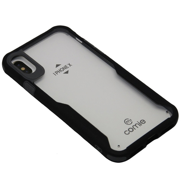 Чехол A-case iPhone 7 Plus/8 Plus Comie Transparent-Black