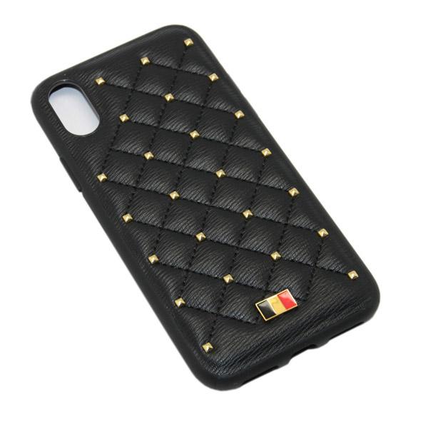 Чехол A-case Mentor iPhone XS Max POAGE Black