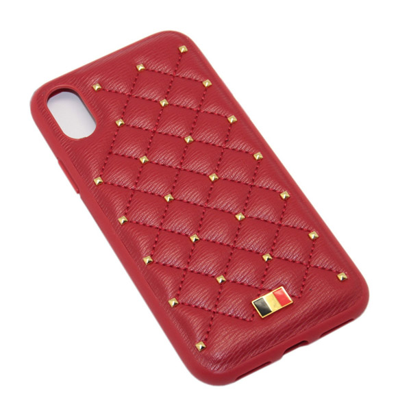 Чехол A-case Mentor iPhone XS POAGE Red