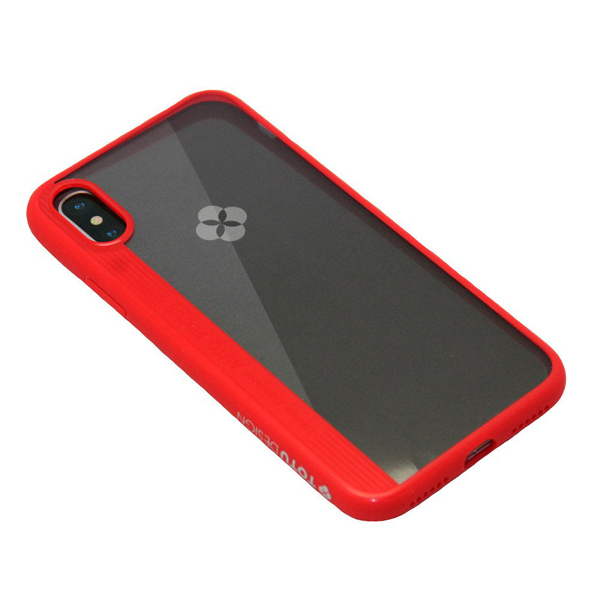 Чехол A-case Totu Design Crystal color series iPhone X Red