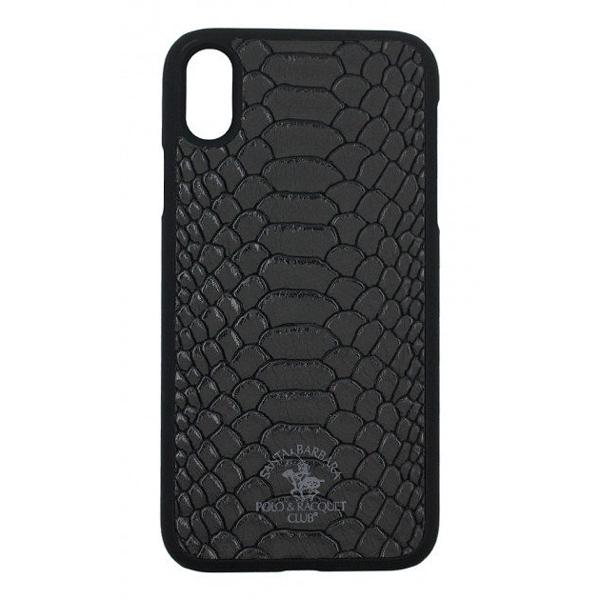 Чехол A-case Santa Barbara Polo & Racquet Club iPhone X Knight Black
