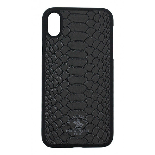 Чехол A-case Santa Barbara Polo & Racquet Club iPhone XS Max Knight Black
