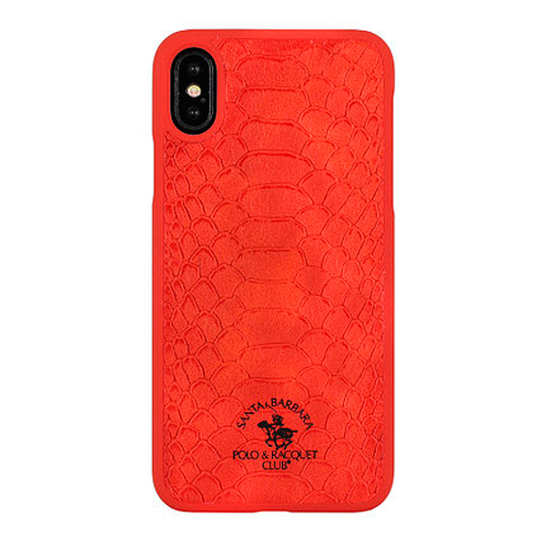 Чехол A-case Santa Barbara Polo & Racquet Club iPhone X Knight Red