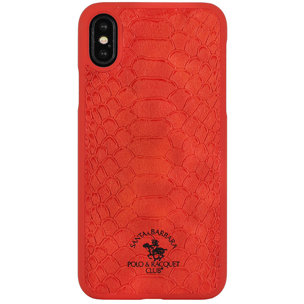 Чехол A-case Santa Barbara Polo & Racquet Club iPhone XR Knight Red