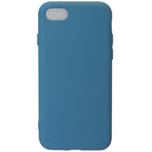 Чехол TOTO Soft Touch для iPhone 8 Dark Blue