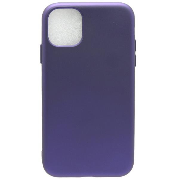 Чехол TOTO Soft Touch для iPhone11 Eggplant