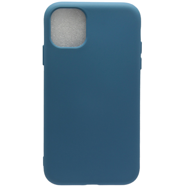 Чехол TOTO Soft Touch для iPhone11 Dark Blue