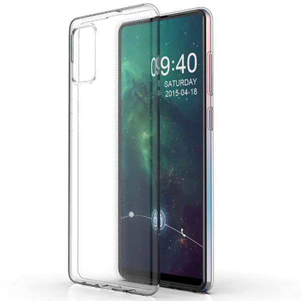 Чехол для Samsung A51 Transparent