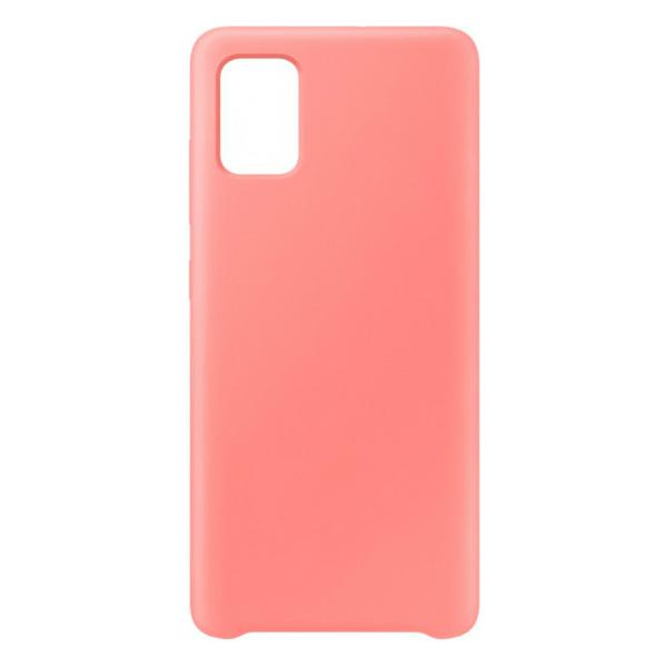 Чехол для Samsung A51 Pink