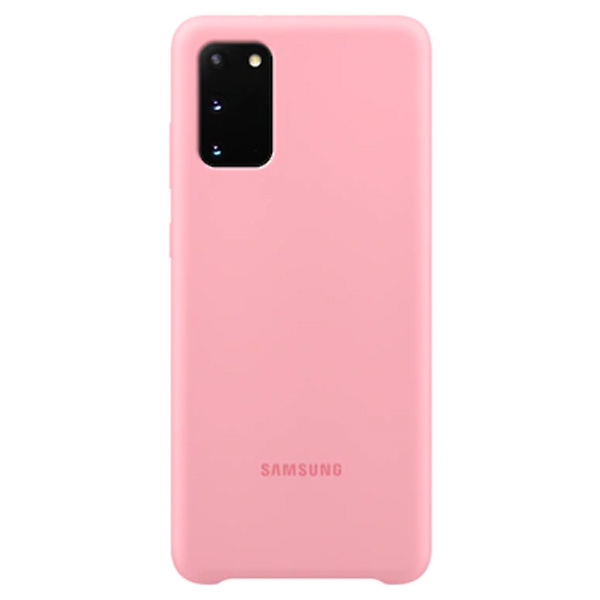 Чехол Samsung Silicone Cover S20  EF-PG980TPEGRU