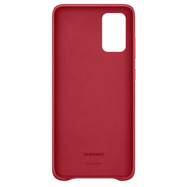 Чехол для смартфона Samsung Leather Cover S20+ EF-VG985LREGRU