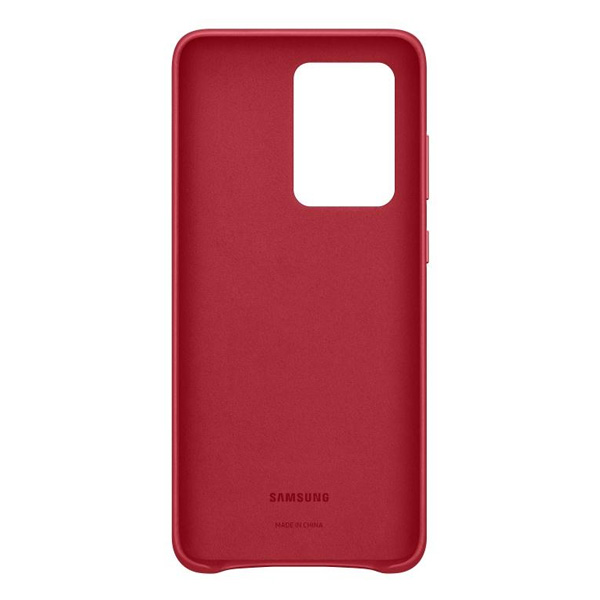 Чехол Samsung Leather Cover S20 Ultra EF-VG988LREGRU