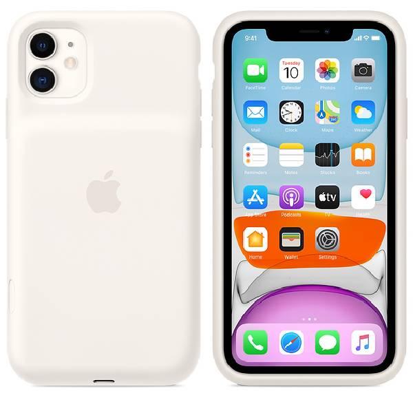 Чехол - зарядка для смартфона Apple iPhone11 Smart Battery Case White (MWVJ2)