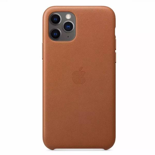 Чехол для смартфона Apple iPhone 11 Pro Leather Case Saddle Brown (MWYD2)