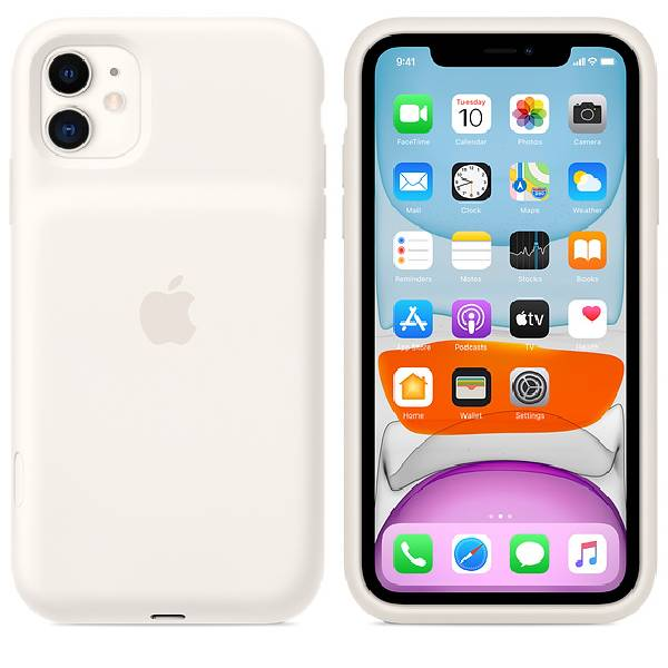 Чехол - зарядка для смартфона Apple iPhone 11 Pro Max Smart Battery Case White (MWVQ2)
