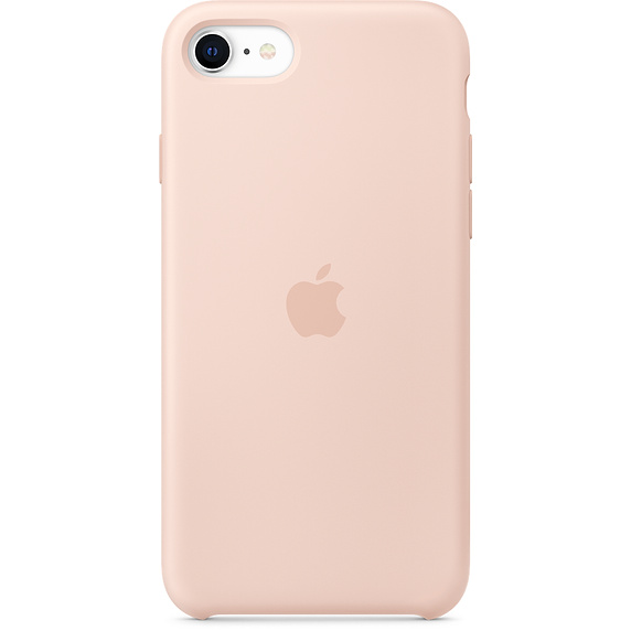 Чехол Apple iPhone SE Silicone Case Pink Sand