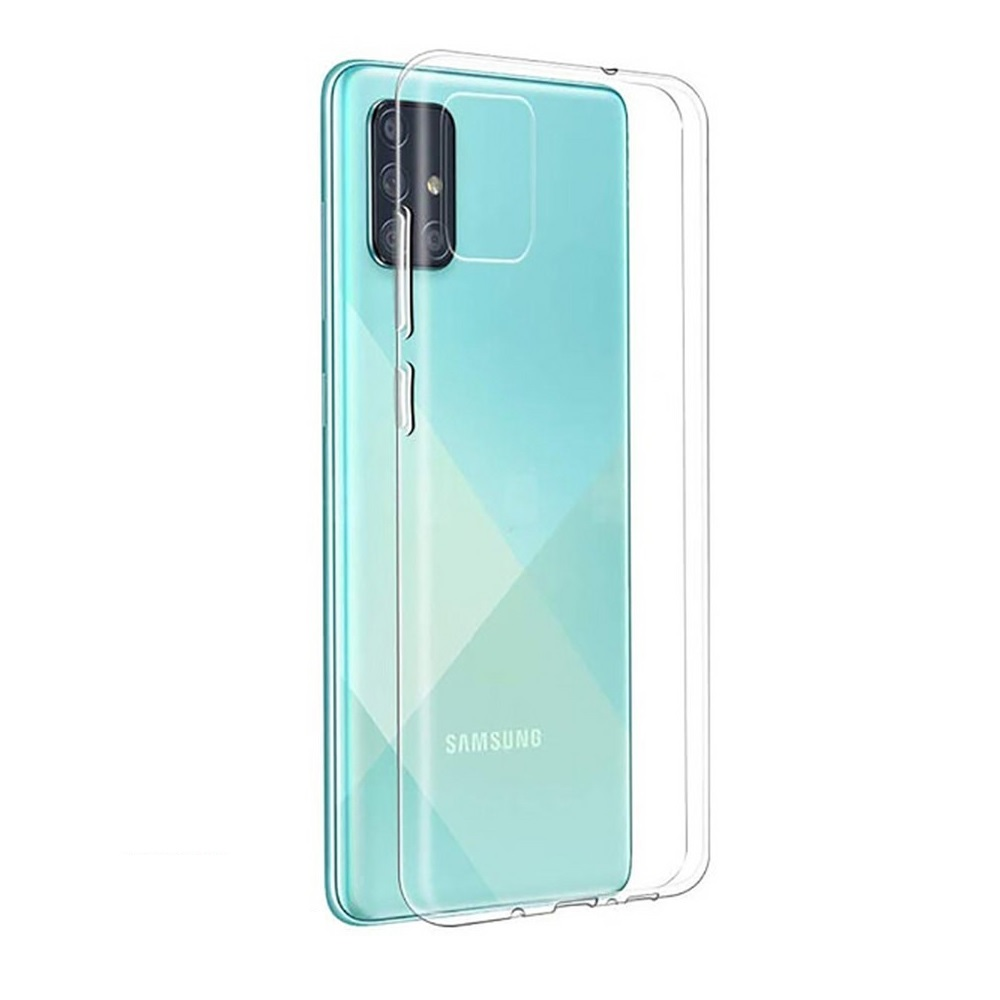 Чехол TOTO для Samsung Galaxy A31 Прозрачный