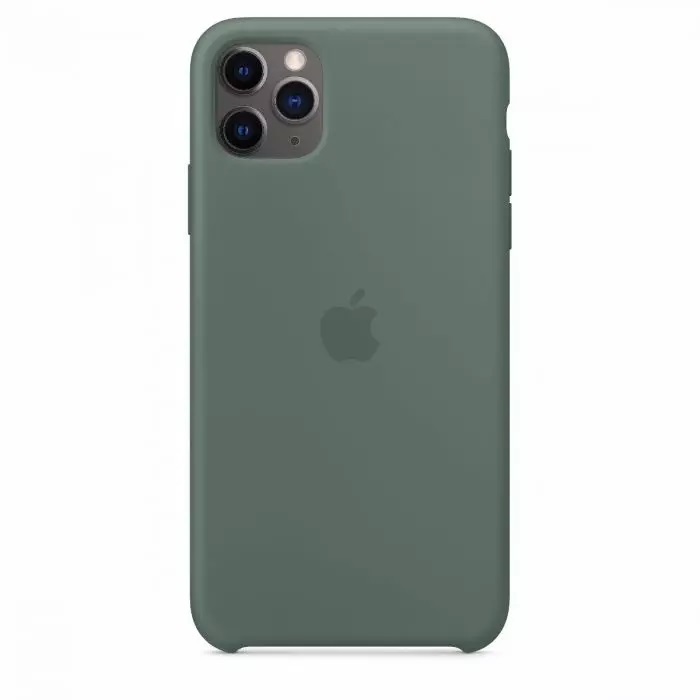 Чехол Apple iPhone 11 Pro Silicone Case Pine Green MWYP2