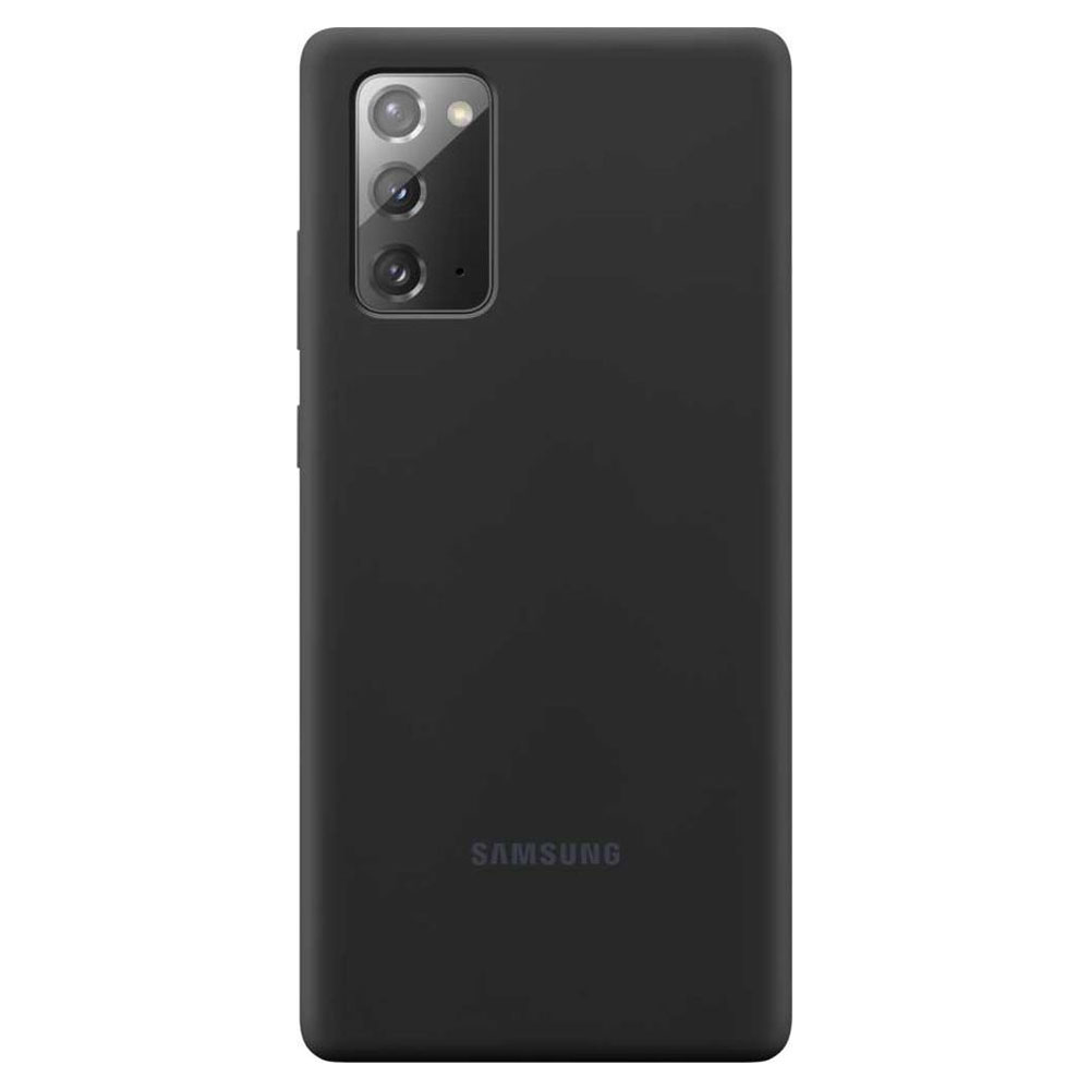 Чехол для смартфона Samsung Note20 Silicone Cover (EF-PN980TBEGRU)