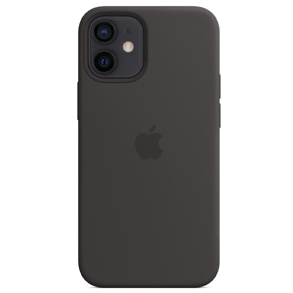 Чехол Apple iPhone 12 mini Silicone Case with MagSafe MHKX3 Black