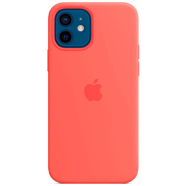 Чехол Apple iPhone 12/12 Pro Silicone Case with MagSafe MHL03 Pink Citrus