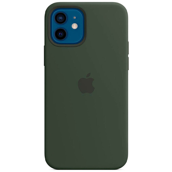 Чехол Apple iPhone 12/12 Pro Silicone Case with MagSafe MHL33 Cypress Green