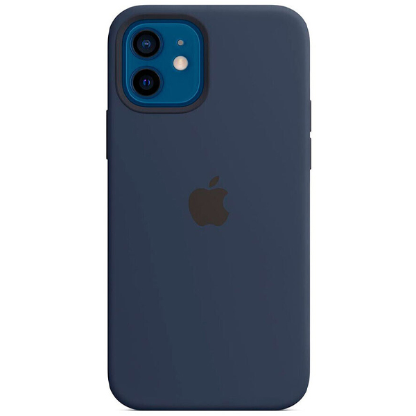 Чехол Apple iPhone 12/12 Pro Silicone Case with MagSafe MHL43 Deep Navy