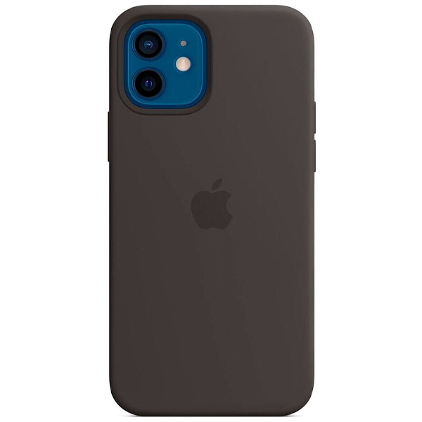 Чехол Apple iPhone 12/12 Pro Silicone Case with MagSafe MHL73 Black
