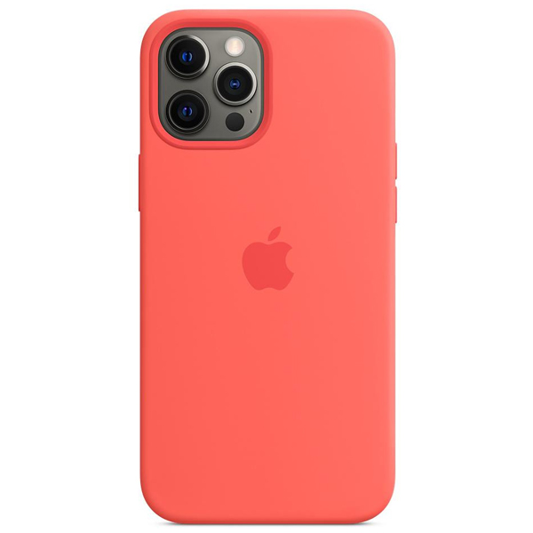 Чехол Apple iPhone 12 Pro Max Silicone Case with MagSafe MHL93 Pink Citrus