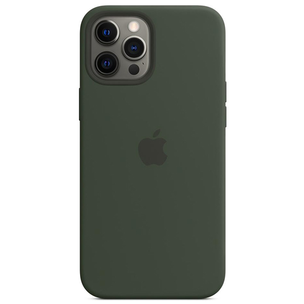 Чехол Apple iPhone 12 Pro Max Silicone Case with MagSafe MHLC3 Cypress Green