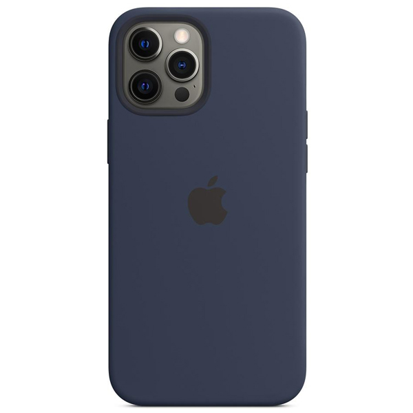 Чехол Apple iPhone 12 Pro Max Silicone Case with MagSafe MHLD3 Deep Navy