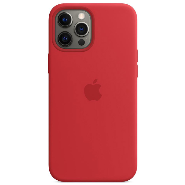 Чехол Apple iPhone 12 Pro Max Silicone Case with MagSafe MHLF3 (Product)Red