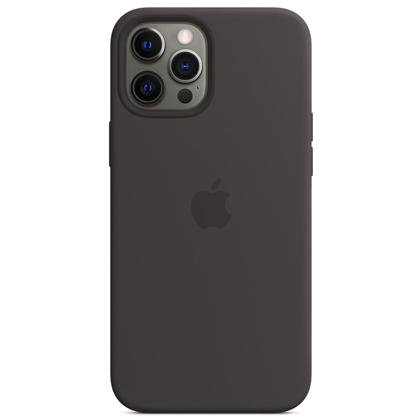 Чехол Apple iPhone 12 Pro Max Silicone Case with MagSafe MHLG3 Black