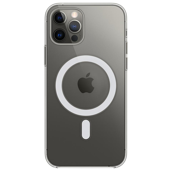 Чехол Apple iPhone 12 Pro Max Clear Case with MagSafe MHLN3