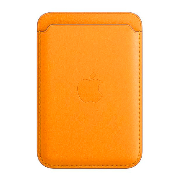 Чехол-бумажник Apple iPhone Leather Wallet with MagSafe MHLP3 California Poppy