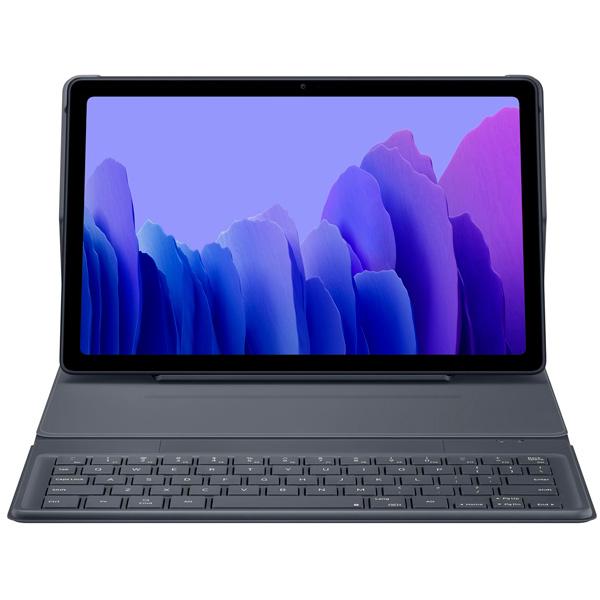 Чехол-клавиатура Samsung для Galaxy Tab A7 Серый (EF-DT500BJRGRU)