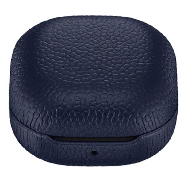 Чехол для наушников Samsung Leather Cover для Galaxy Buds Live Blue  (EF-VR180LNEGRU)