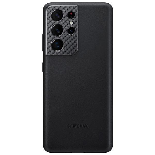 Чехол для смартфона Samsung Leather Cover S21 Ultra (EF-VG998LBEGRU)
