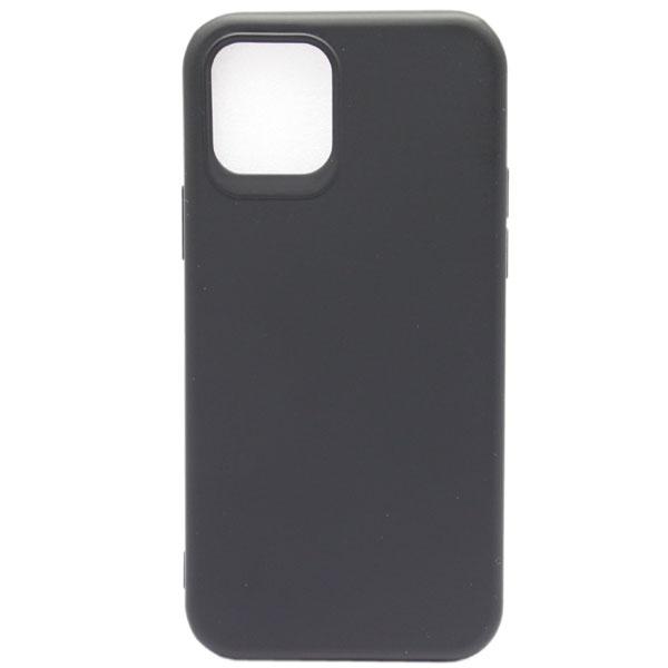 Чехол Acron Soft Touch для Iphone 12 Pro Max (чёрный)