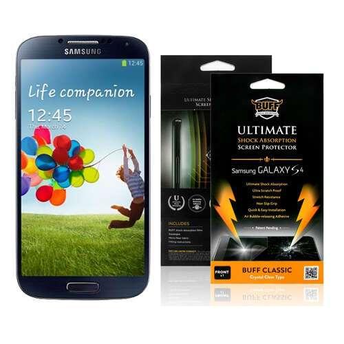 Защитная пленка Buff  для Samsung Galaxy S4 (бронь)