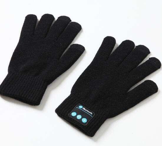 Перчатки bluetooth ShineStone SST-GF16139, черный