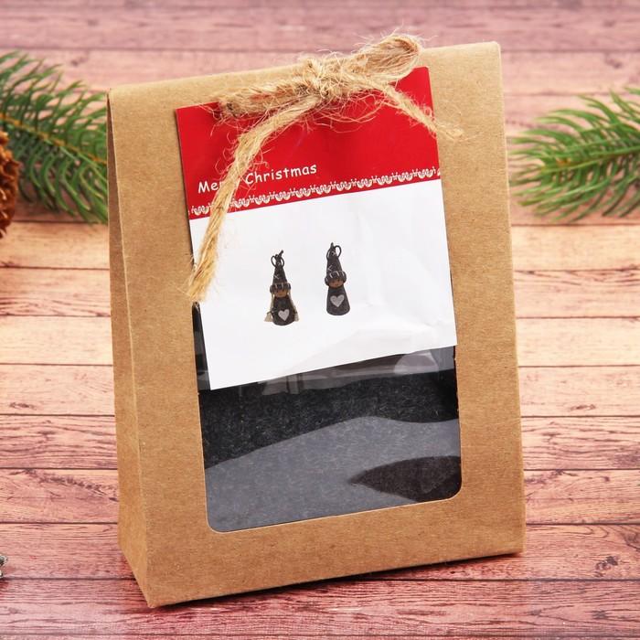 Набор для творчества «Создай новогоднюю подвеску. Куколки с сердечками» набор 2 шт.