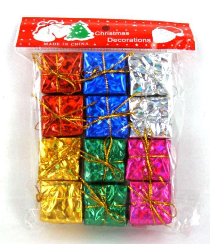 Украшение подарочная коробка SST-CTD008-312