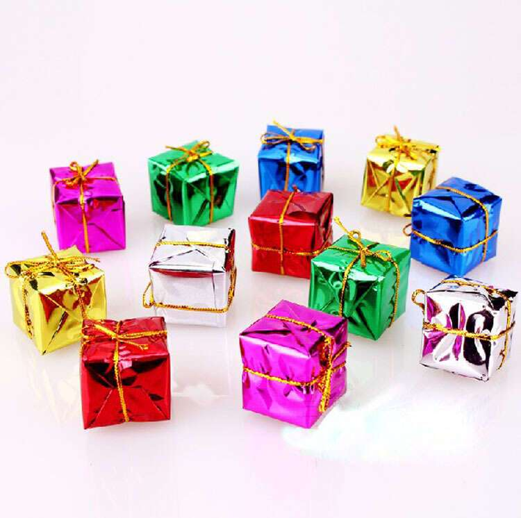 Украшение подарочная коробка SST-CTD008-46