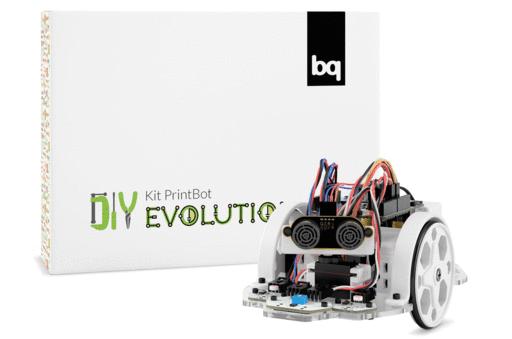 Набор для сборки роботов BQ  Kit PrintBot Evolution (H000186)