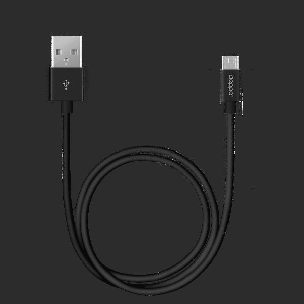 Кабель Deppa micro USB 3м (72229)