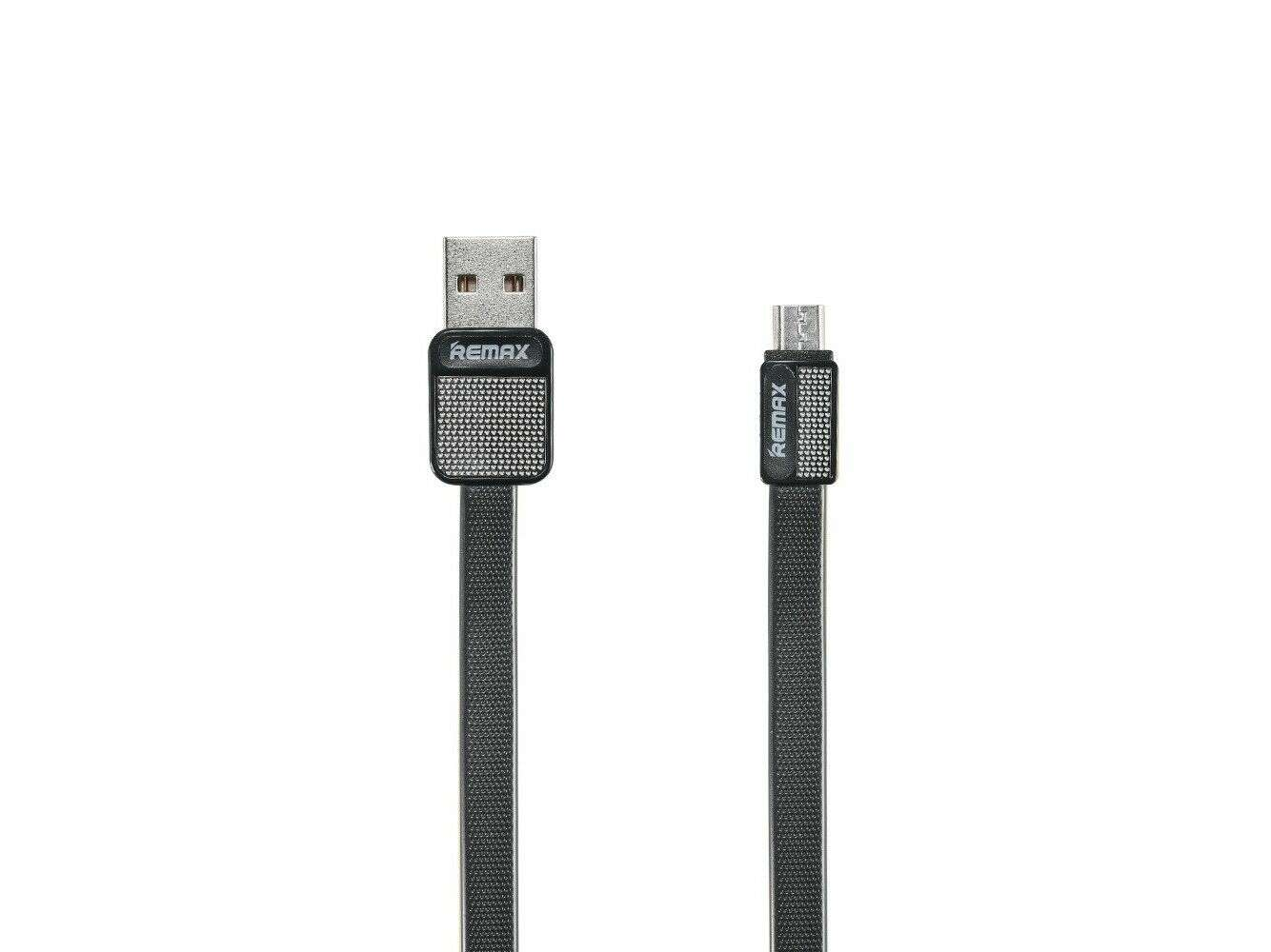 Кабель Remax Platinum Cable for Micro RC-044m, черный